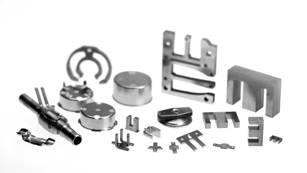 Stamped  Parts made of NiFe